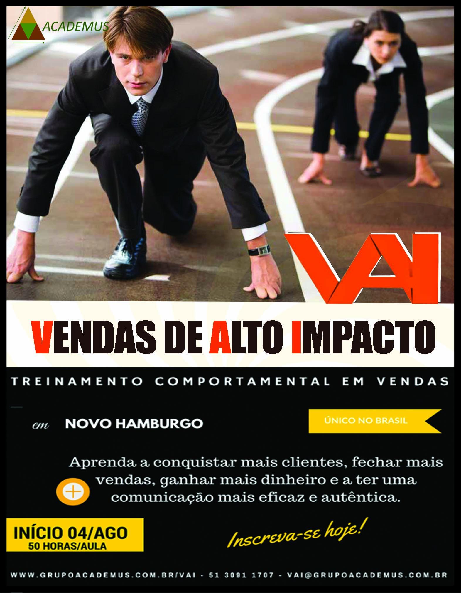 TREINAMENTO VENDAS DE ALTO IMPACTO
